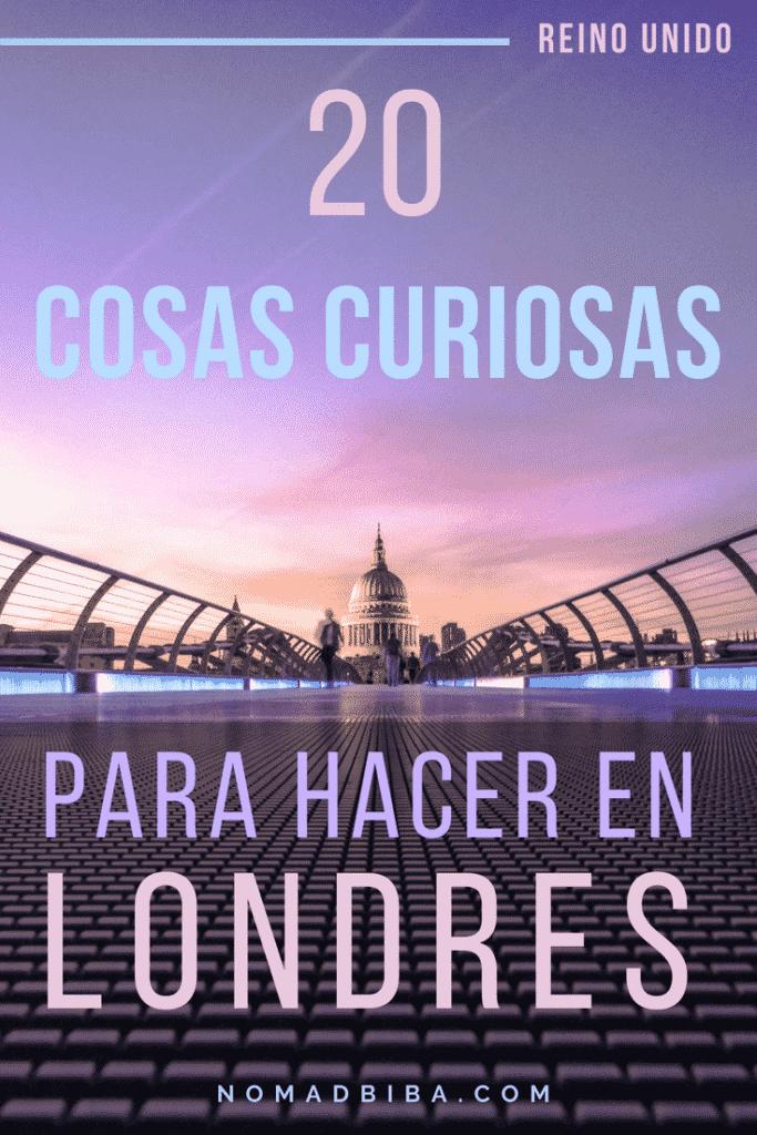 Cosas Curiosas Para Hacer en Londres(1)