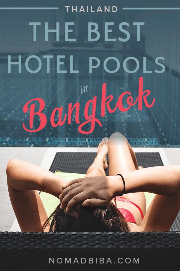 Best Hotel Pools in Bangkok Pin