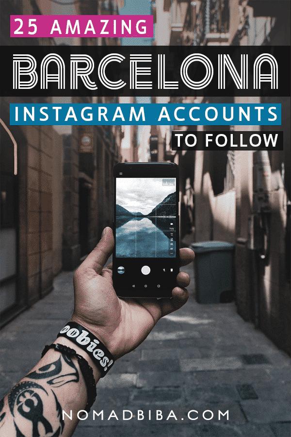 Barcelona Instagram Accounts