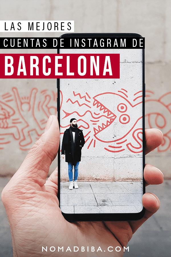 Cuentas de Instagram de Barcelona