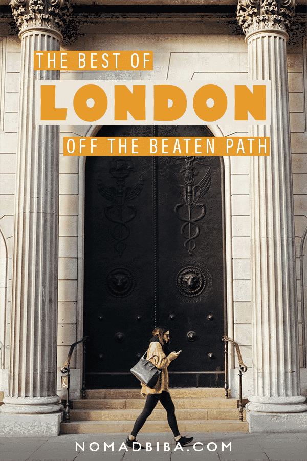 London Off the Beaten Path